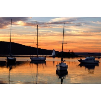 Baddeck Sunrise Boats